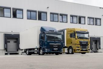 Digitális visszapillantó tükröket kapnak az MAN teherautók