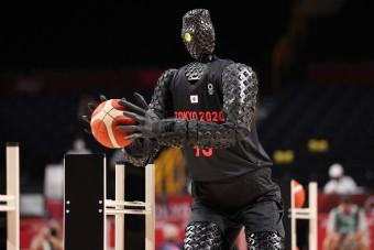 A robotok a tokiói olimpia új sztárjai