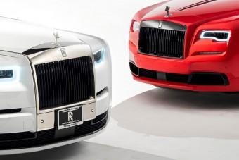 40 évet bírtak ki egymás mellett, és ezt a tényt két Rolls-Royce megvásárlásával ünnepelték