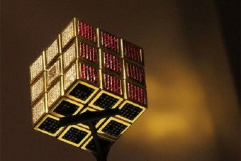 A világ legdrágább játéka egy Rubik-kocka