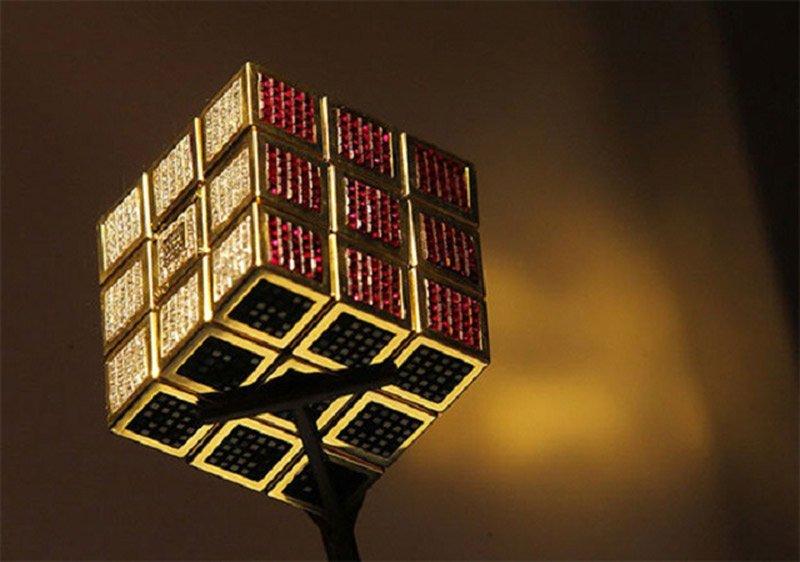 A világ legdrágább játéka egy Rubik-kocka 1