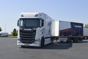 Kipróbáltuk a Scania legerősebb kamionját