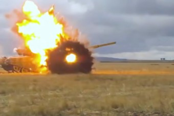 Új életet adtak az oroszok régi tankjaiknak