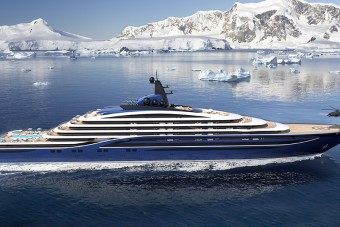 Mindent elhomályosító luxussal jön a világ legnagyobb jachtja