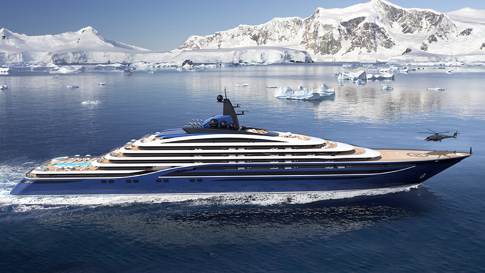 Mindent elhomályosító luxussal jön a világ legnagyobb jachtja 2