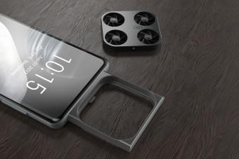 Egy drón veheti át a kamerák szerepét mobiljainkban