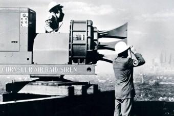 A leghangosabb légvédelmi szirénát egy amerikai V8-as hajtotta