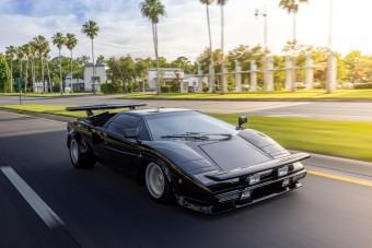 Történelmi örökségnek választották az Ágyúgolyófutam Lamborghinijét