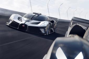 Ezt a pályaautót fogja gyártani a Bugatti
