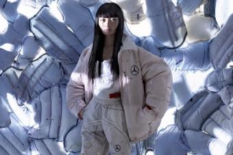 Légzsákból gyárt ruhákat a Mercedes