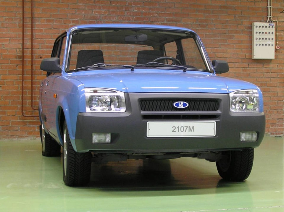 Ilyen is lehetett volna a modernebb kocka-Lada 4