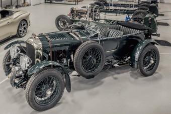 Vadonatúj, 90 éves autót épített a Bentley