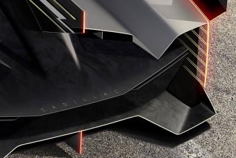 Sci-fibe illő versenyautót épít a Cadillac