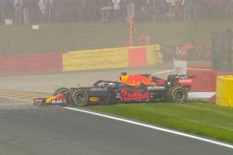 F1: Verstappen és Leclerc is autót tört, megszakították a szabadedzést