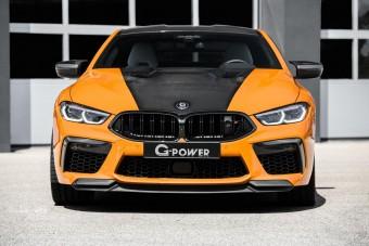 340 km/óra a tuning BMW korlátozott végsebessége