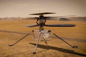 Fontos mérföldkőhöz érkezett a NASA Mars-helikoptere