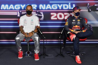 F1: Lesz még balhé Hamilton és Verstappen között