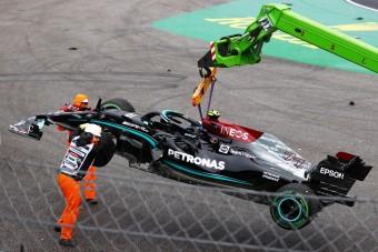 F1: Kiakadtak a tömegbalesetet okozó Bottasra