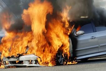 Akkumulátortűz pusztíthatja el az autód