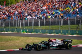 F1: Hamilton nélkül is elrajtolt volna a Magyar Nagydíj