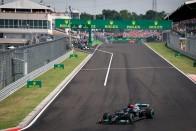 F1: Hamilton nélkül is elrajtolt volna a Magyar Nagydíj 1