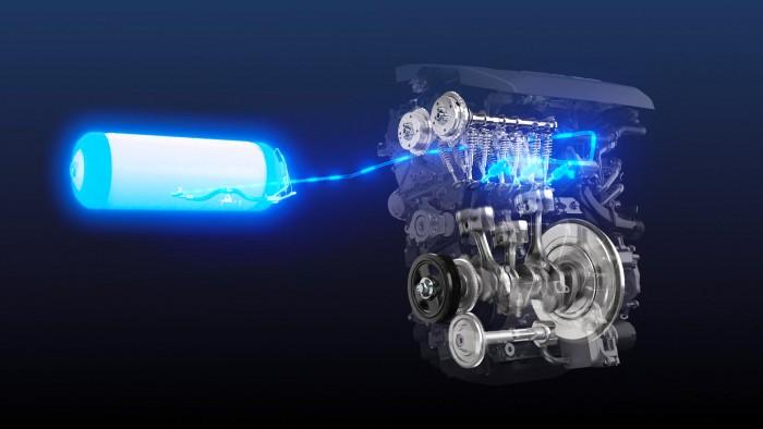 Toyota 2 hizo historia con el hidrógeno