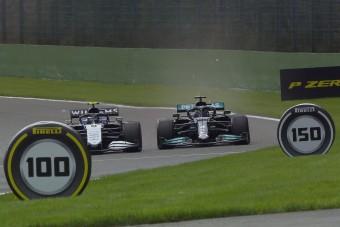 F1: Majdnem kiütötték Hamiltont az első edzésen
