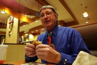50 éve eszik a McDonald's-ban egy férfi, és nem akar leállni