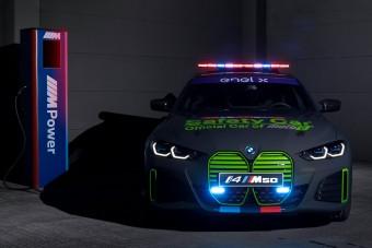 Motorsport szerepben a BMW villanykupéja