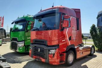 Exkluzív fotókon az új Renault nyerges vontató