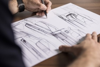 Egyetlen, digitális példányban létező Porsche-skiccet árvereznek el