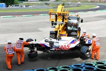 F1: Kivan a Haas-főnök, nem akar több autótörést