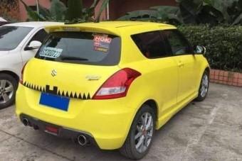 Érthetetlen, mit műveltek ezzel a Suzuki Swifttel Kínában