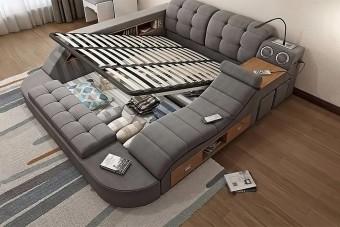 Ebben az ágyban minden megvan, ami az aktív, illetve passzív pihenéshez szükséges lehet