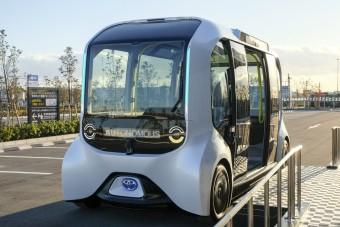 Nagy változások a Toyota gázoló önvezető buszánál