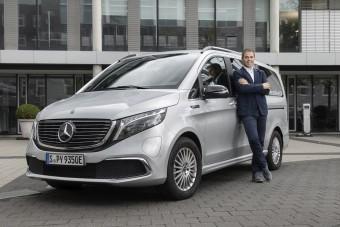Minden Mercedes haszonjármű elektromos lesz