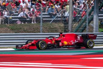 F1: Betegen sprintelt Leclerc