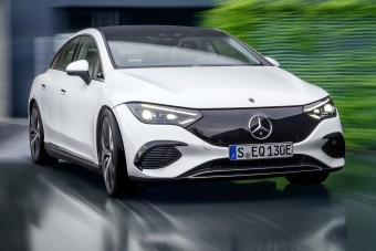 Újabb elektromos szedán a Mercedestől