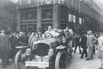 Tudtad, hogy több mint 100 éve vannak magyar autóversenyek?