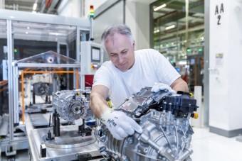 Elkészült a negyvenmilliomodik motor Győrben