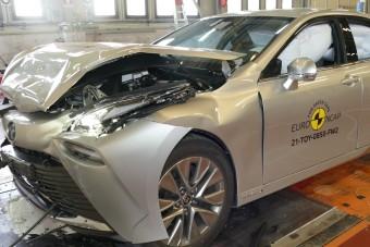 Nem veszélyes a hidrogén üzemű autó