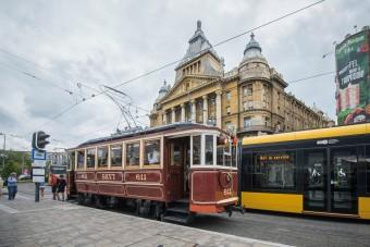 100 éves villamossal is utazhatsz Budapesten