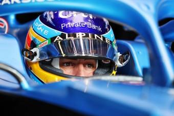 F1: Alonso bánja, hogy nem vonult vissza