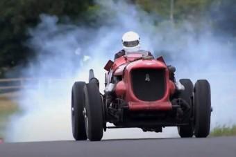 Ahol ez az öreg versenygép eldurrog, ott kihívják a rendőröket
