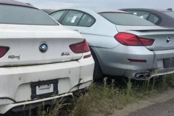 Több ezer, sosem használt BMW rozsdásodik egy kanadai telepen, már 6 éve
