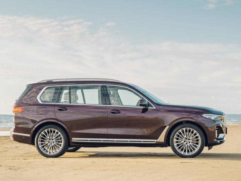 Ennek a BMW X7-esnek párját ritkítóan csodás belteret készítettek Japánban 1