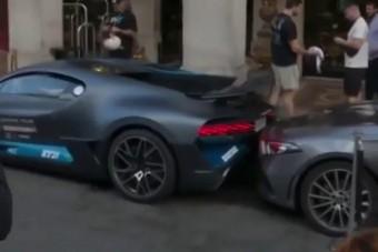 Ilyen az, ha van egy méregdrága Bugattid, csak parkolni nem tudsz vele