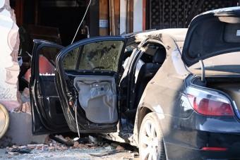 Presszónak ütközött autójával, meghalt a sofőr