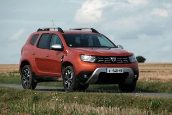 Új SUV 4 millió alatt? Itt a frissített Dacia Duster