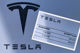 Rekordot ment egy Tesla a Nürburgringen